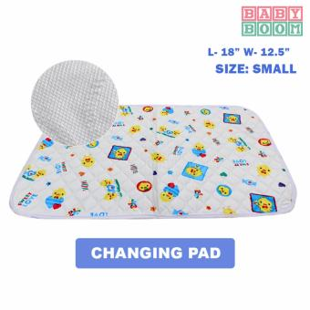 BABY BOOM Waterproof Baby Mattress Sheet and Changing Pads- Sweety (S)