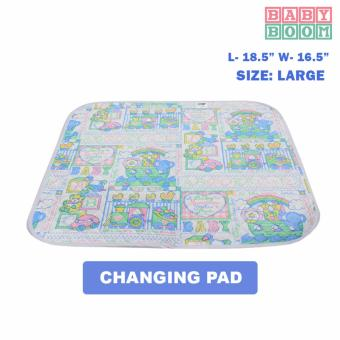 BABY BOOM Waterproof Baby Mattress Sheet and Changing Pads- Zooby(L) Price Philippines
