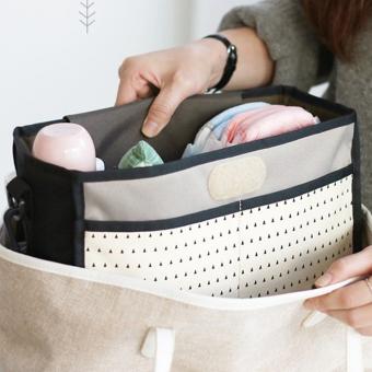Baby car Portable hanging bag stroller Baby Bag(Black) - intl - 2