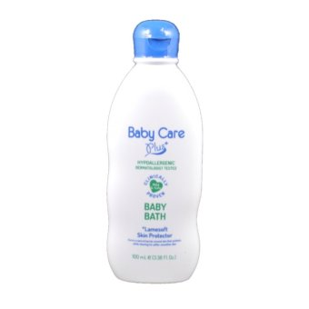 Baby Care Plus Baby Bath 100mL with Lamesoft Skin Protector