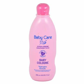 Baby Care Plus Pink Baby Cologne 200mL Hydraplus Formula