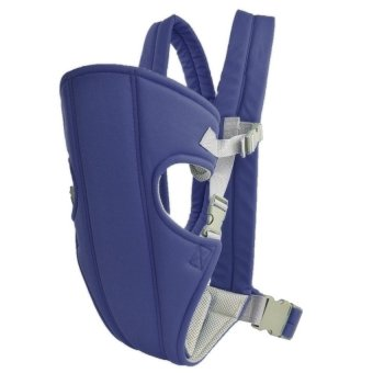 Baby Carrier sling wrap Rider Infant Comfort backpack (Blue)