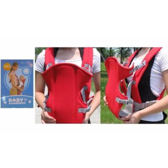 Baby Carrier sling wrap Rider Infant Comfort backpack (Red)
