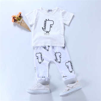 Baby comfortable cotton baby Summer out clothes
