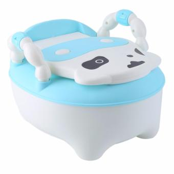 Baby Cow Drawer Potty Training Toilet Seat, Blue