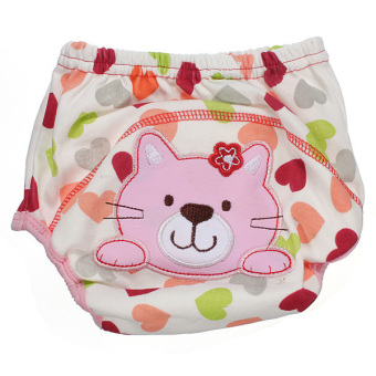 Baby Diaper Nappy Diaper Covers Potty Training Pants (cat)