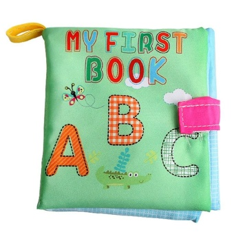 Baby Early Learning Toys Soft Educational Cloth Book (Letters) - intl Price Philippines