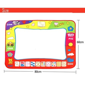 Baby Educational Toys Water Drawing Mat With Pen (Intl) - picture 2