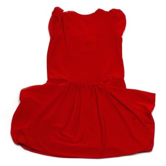 Baby Fashionista Stones and Sequins Dress (Red) - picture 2