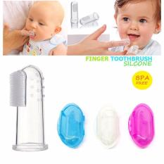 Baby Finger Toothbrush/Oral Massager (Clear)