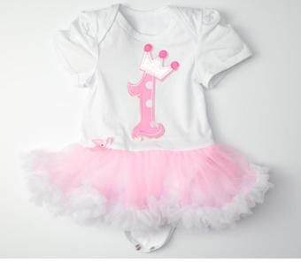 Baby Girl Infant 3pcs Clothing Sets Romper+Headband+Shoes Christmas Suit Princess Tutu Romper Dress/Jumpsuit Xmas Bebe Party Birthday Costumes - intl - picture 2