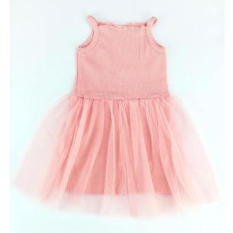 Baby Girls Tutu Dress Casual Sleeveless Cotton Kids Princess DressFashion Photography Birthday Outfit
