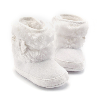 Baby Girls Winter Snow Boots with Bowknot (White) Price Philippines