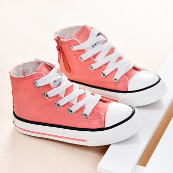 Baby hight-top shoes autumn children's shoes