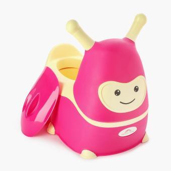 Baby Hood Caterpillar Potty Chair (Pink)