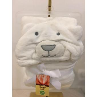 Baby Hooded Blanket Bear(white) Price Philippines