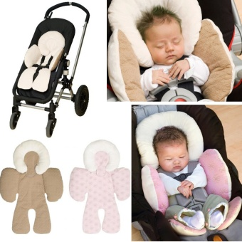 Baby Infant Safety Car Seat Stroller Soft Cushion Pad Liner MatHead Neck Body Support Pillow - intl