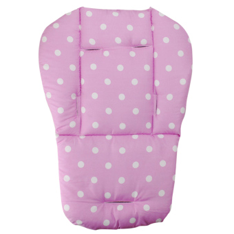 Baby Infant Stroller Seat Pushchair Cushion Cotton Mat White DotPink Price Philippines