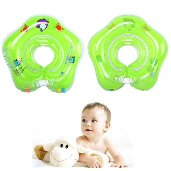 Baby Kids Infant Swimming Protector Neck Float Ring Neck CollarInflatable Tube - intl Price Philippines