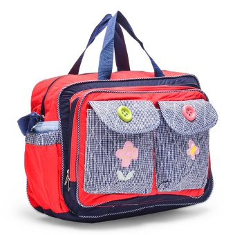 Baby Kingdom Diaper Bag (Blue/Red/Gray) Price Philippines