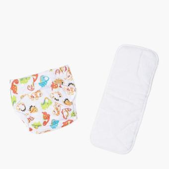 Baby Leaf Dino Cloth Diaper