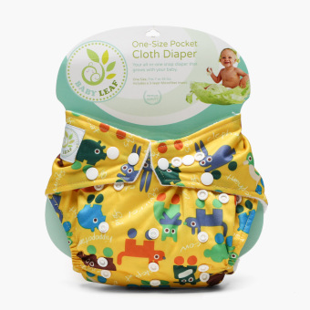 Baby Leaf Pocket Cloth Diaper