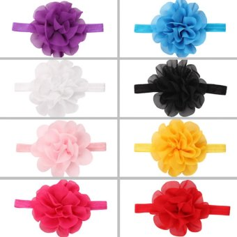 Baby lily Bear Fashion 8pcs Baby Girls Sweeet Headbands Head Bands - intl - 2
