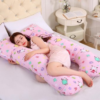 Baby lily Comfort U Shape Body Pregnancy Maternity Cushion Pillow - intl