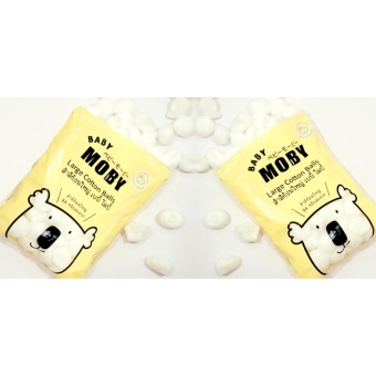 Baby Moby Large Cotton Balls (100 grams) - Set of 2