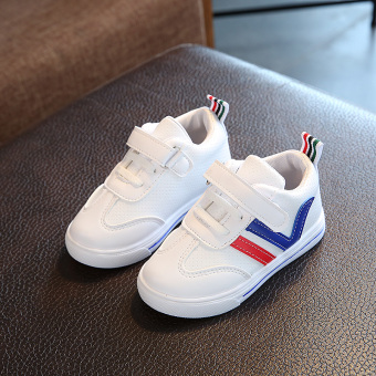 Baby non-slip small boy's shoes white shoes