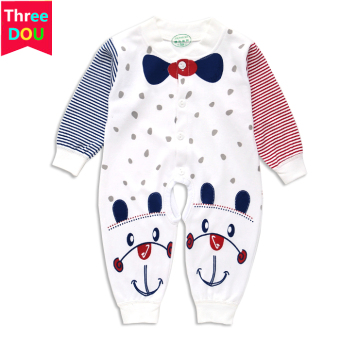 Baby spring newborns thin pajamas onesie