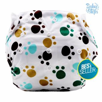 BABY STEPS Doggie Paws Baby Diapers