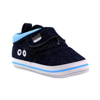 BABY STEPS DuoBe Baby Boy Shoes (Dark Blue)