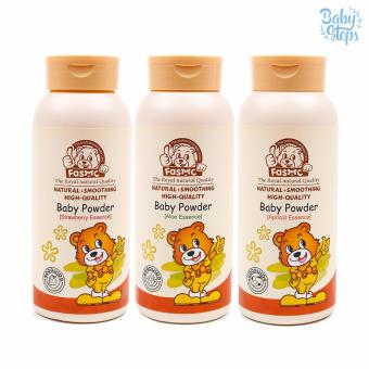 Baby Steps FASMC Baby Powder Essence e200g Set of 3