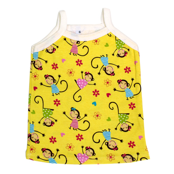 BABY STEPS FlowerLady Baby Clothes Girl Clothing Pajama Sets(Yellow) - 3