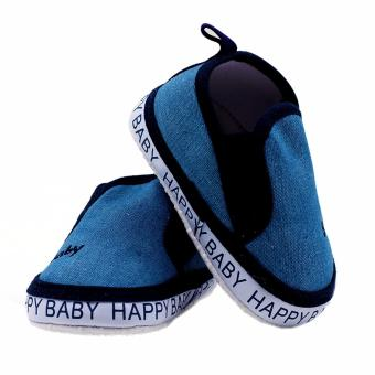 BABY STEPS Happy Baby Boy Shoes (Blue) - 3