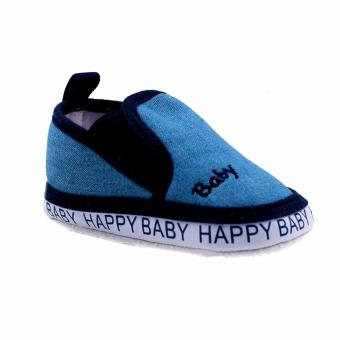 BABY STEPS Happy Baby Boy Shoes (Blue)