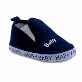 BABY STEPS Happy Baby Boy Shoes (Navy)