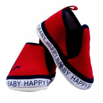 BABY STEPS Happy Baby Boy Shoes (Red) - 3