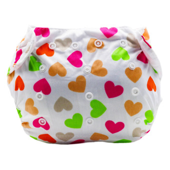 BABY STEPS KittyHearts Baby Diapers - 2