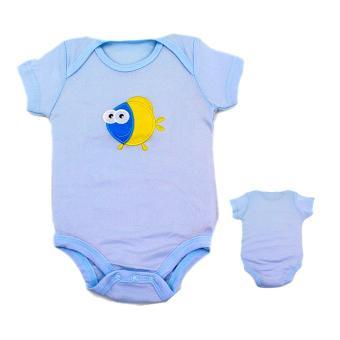 Baby Steps Limited Newborn Baby Boy Starter Pack Bundle Set (Blue) - 2
