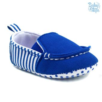 Baby Steps Malan Baby Boy Shoes (Blue) Price Philippines