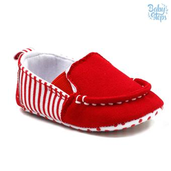 Baby Steps Malan Baby Boy Shoes (Red)
