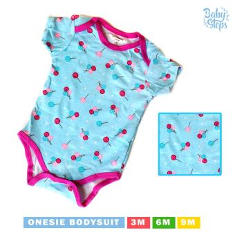 Baby Steps Onesie Lollipop Bodysuit 3-6 Months (Multicolor)