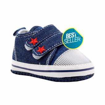 BABY STEPS Starr Baby Boy Shoes Sneakers (Blue)