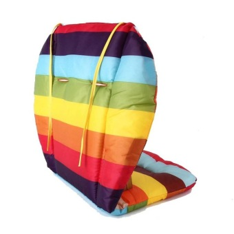 Baby Stroller Seat Pushchair Cushion Cotton Mat Rainbow Color SoftThick Pram Cushion Chair BB Car Seat Cushion Price Philippines
