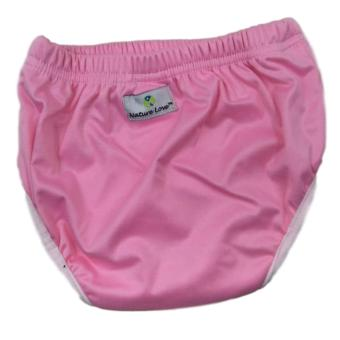 Baby Toddler (Nature Love Brand) Cloth Training Pants / Pull-upCloth Diaper Underwear Size 2 {Pink}