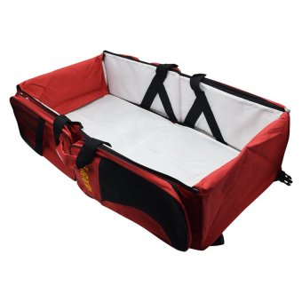 Baby Travel Bed & Bag (Red) Price Philippines