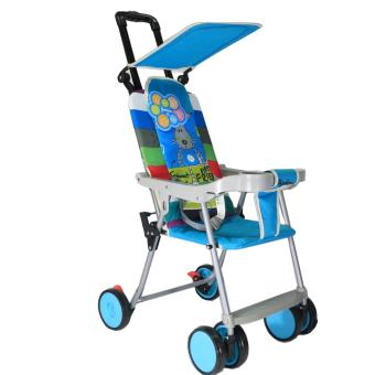 BabyGro Compact Stroller (Blue Printed) Price Philippines
