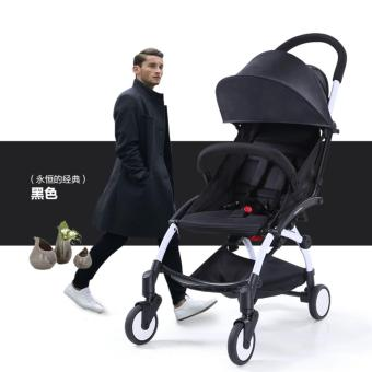 Babytime Portable Pushchair Lightweight Compact and Cabin Size Stroller(Black) Price Philippines